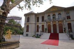 Luxueus paleis in Boekarest Roemenië royalty-vrije stock foto