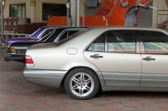 Luxueuze auto's Stock Foto