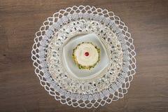 Luxueuze dessertcake Royalty-vrije Stock Foto's