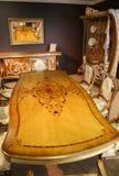 Luxueuze eetkamer royalty-vrije stock foto