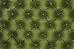 Luxueuze het leertextuur van de olijf groen-toon Royalty-vrije Stock Fotografie