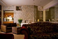 Luxueuze hotelruimte royalty-vrije stock afbeeldingen