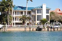 Luxueuze huizen. Royalty-vrije Stock Foto