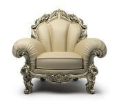 Luxueuze leunstoel Stock Fotografie