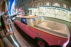 Luxueuze limousine Stock Fotografie
