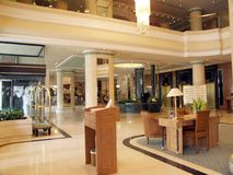 Luxueuze lounge Royalty-vrije Stock Fotografie