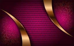 Luxueuze moderne heldere roze achtergrond stock illustratie