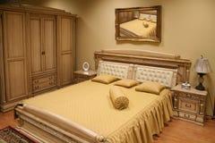 Luxueuze slaapkamer 2 Stock Foto