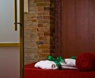 Luxueuze slaapkamer Stock Afbeeldingen