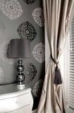 Luxueuze slaapkamer in de stijl van oud Stock Fotografie