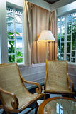Luxueuze woonkamer Royalty-vrije Stock Foto