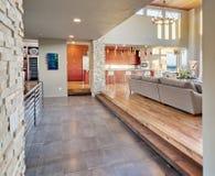 Luxueuze woonkamer Stock Afbeelding