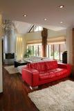 Luxueuze woonkamer Royalty-vrije Stock Afbeelding