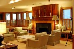 Luxueuze woonkamer Royalty-vrije Stock Afbeeldingen