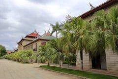 Luxun纪念堂(qunxian大厦) 免版税库存图片