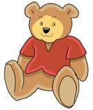 Luxuoso do urso da peluche Imagem de Stock Royalty Free