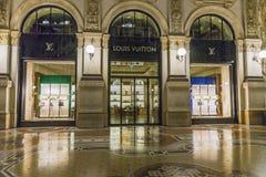 luxuous αγορές του Μιλάνου λε& Στοκ φωτογραφίες με δικαίωμα ελεύθερης χρήσης