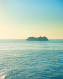 Luxur sea cruise Stock Photography