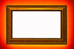 Luxuray photo frame Royalty Free Stock Photo