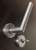 Luxure door handle. Royalty Free Stock Photos