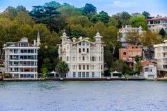 Luxurehuizen in Istanboel, Turkije Royalty-vrije Stock Afbeelding