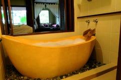 Luxuriöse Badewanne Stockbild
