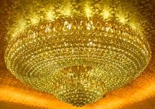 Luxuriöse hängende Lampe Stockbild