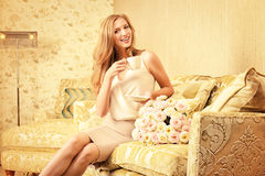 Luxuriöse Möbel Lizenzfreies Stockfoto