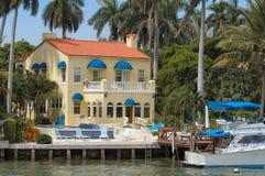 Luxuriöse Villa Stockfoto