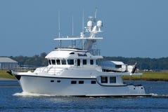 Luxuriöse Yacht Lizenzfreie Stockfotos