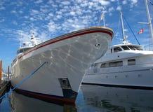 Luxuriöse Yacht Lizenzfreies Stockbild