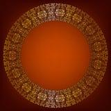 Luxuriöser Goldrahmen Stockbilder