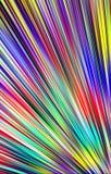 Luxuriöser Hintergrund von Farbstreifen und von Stellen Stockfotografie