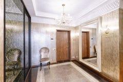 Luxuriöser Innenraum des Hauses Stockfotos