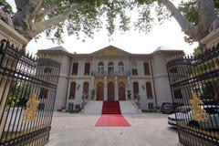 Luxuriöser Palast in Bukarest Rumänien lizenzfreie stockfotografie
