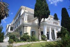 Luxuriöser Palast/Landhaus Stockfoto