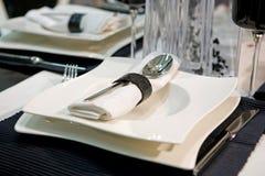 Luxuriöses Abendessen Stockfotos