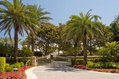 Luxuriöses Florida-Villenhaus Stockfoto