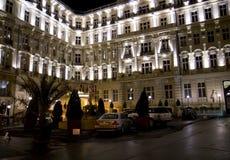 Luxuriöses Hotel Stockbild