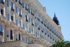 Luxuriöses Hotel in Cannes Lizenzfreie Stockfotos