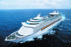 luxuriöses Schiff Lizenzfreies Stockfoto