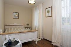 Luxuriöses Schlafzimmer stockbilder
