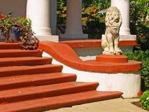 Luxuriöses Treppenhaus Stockbild