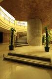 Luxuriöses Treppenhaus stockfotografie