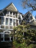 Luxuriöses viktorianisches Haus stockbild