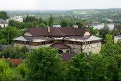 Luxuriöses Vorstadthaus Stockfotografie