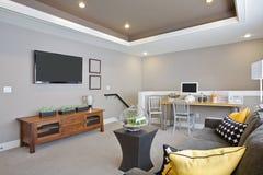 Luxuriöses Wohnzimmer stockfotografie
