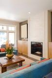 Luxuriöses Wohnzimmer lizenzfreie stockfotos