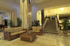 Luxuriöses Wohnzimmer stockfoto