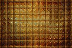 Luxurious abstract background. Golden mosaic, luxurious abstract background Royalty Free Stock Photo